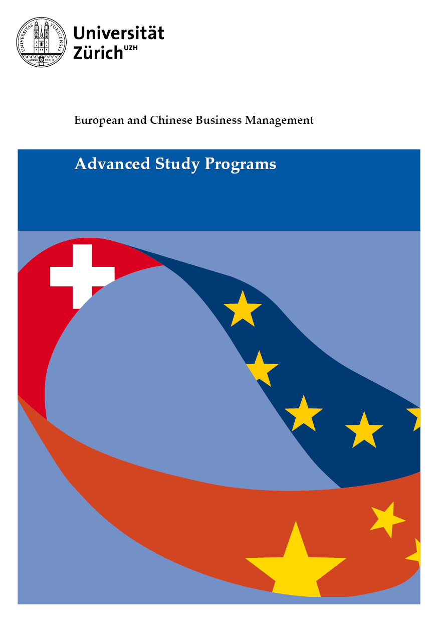 European and Chinese Business Management Brochure